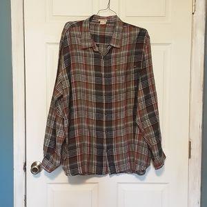 Carbon 2 Colbalt linen shirt